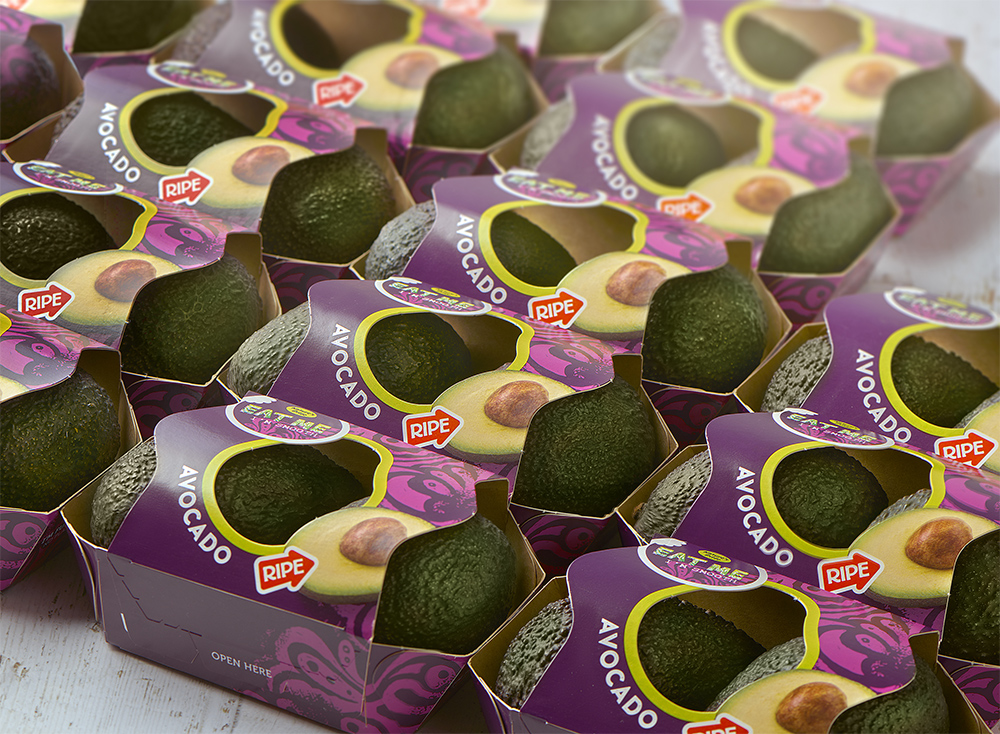 Nature's Pride launches more sustainable avocado packaging © Nature's Pride