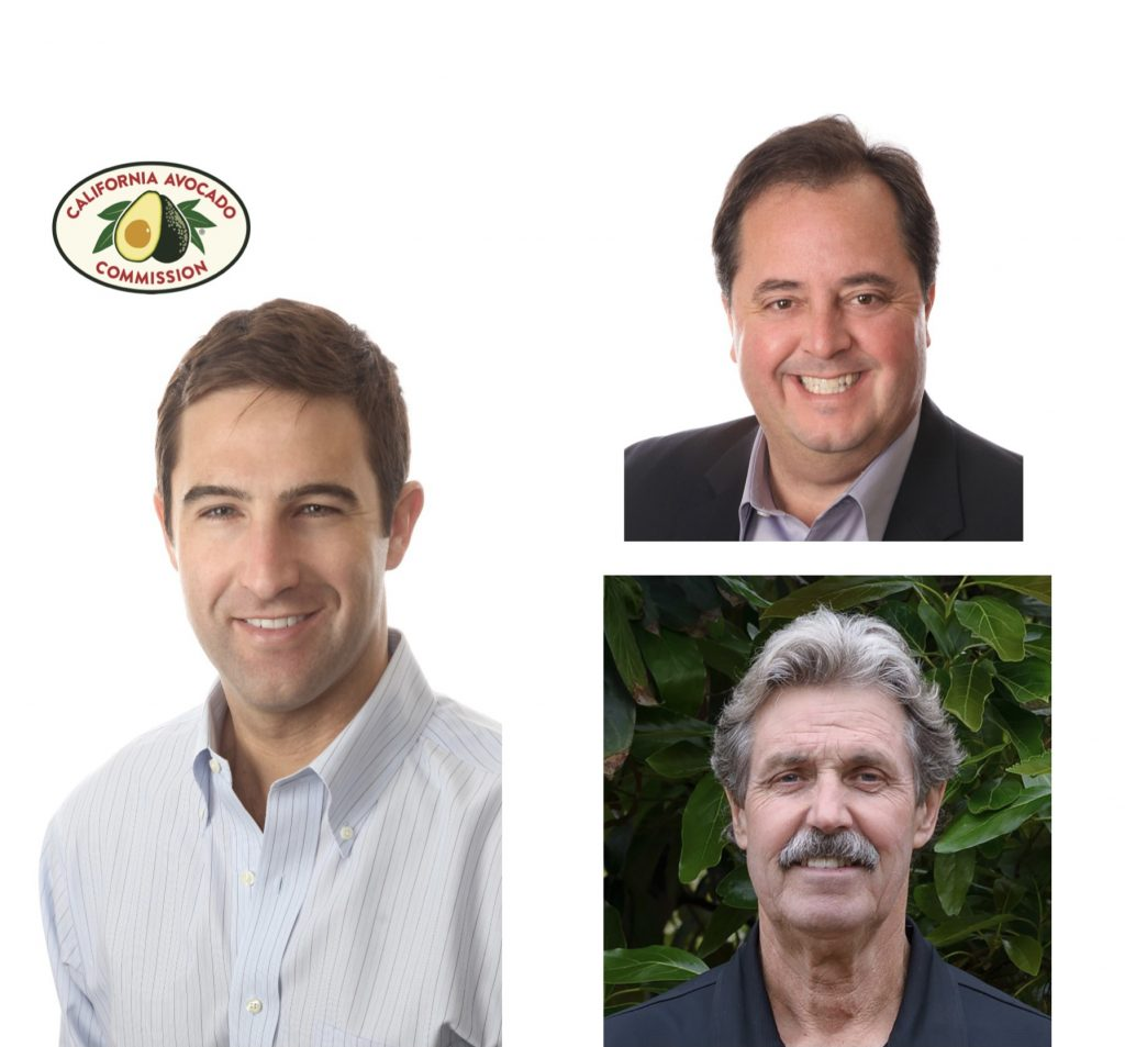 California Avocado Commission announces new board officers and marketing commitee