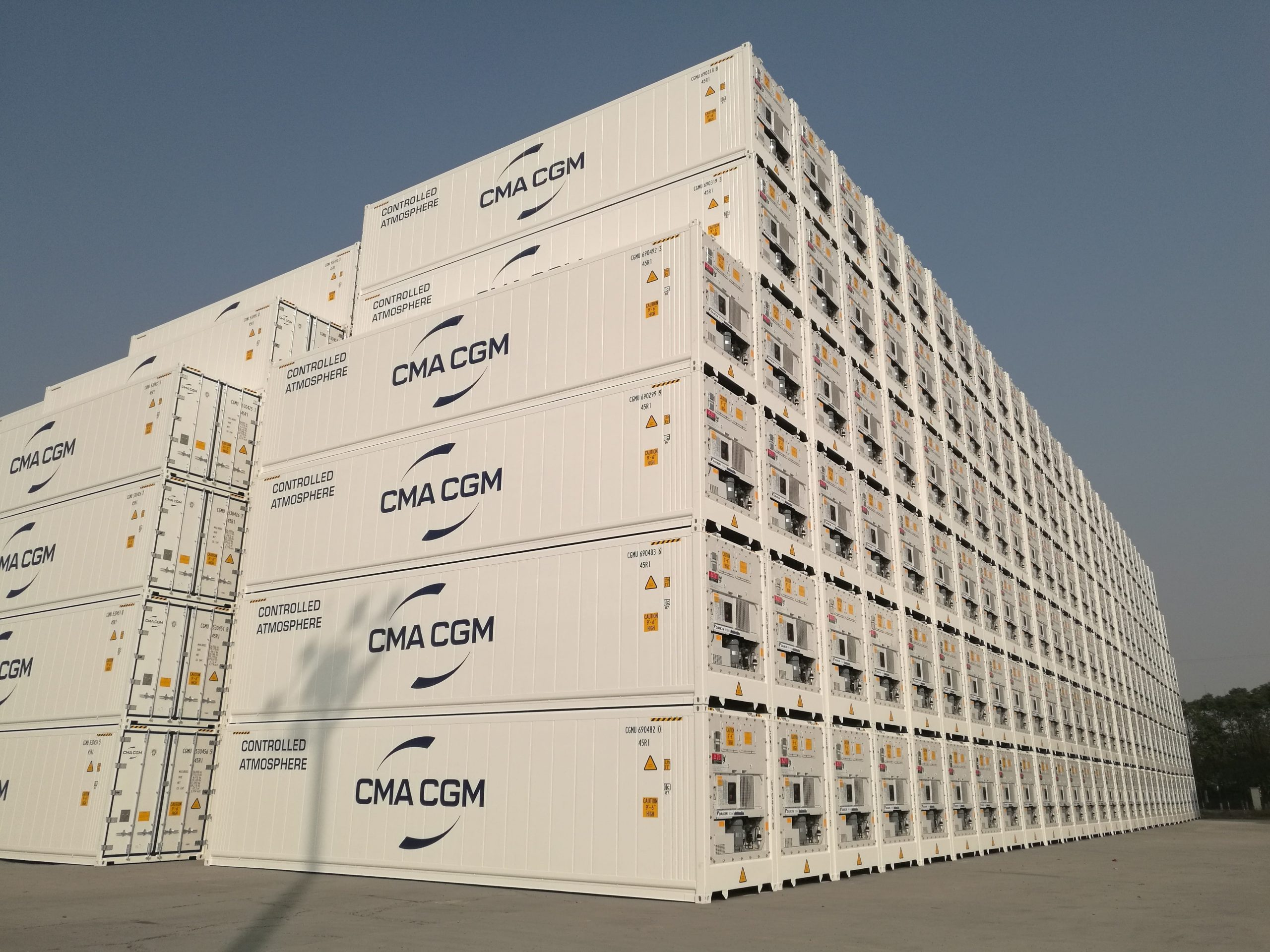 Daikin's Active CA container technology powers CMA CGM's