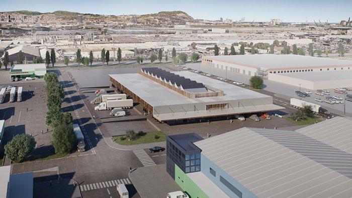 First wholesale market dedicated to organics opens in Mercabarna - The future Biomarket © Mercabarna
