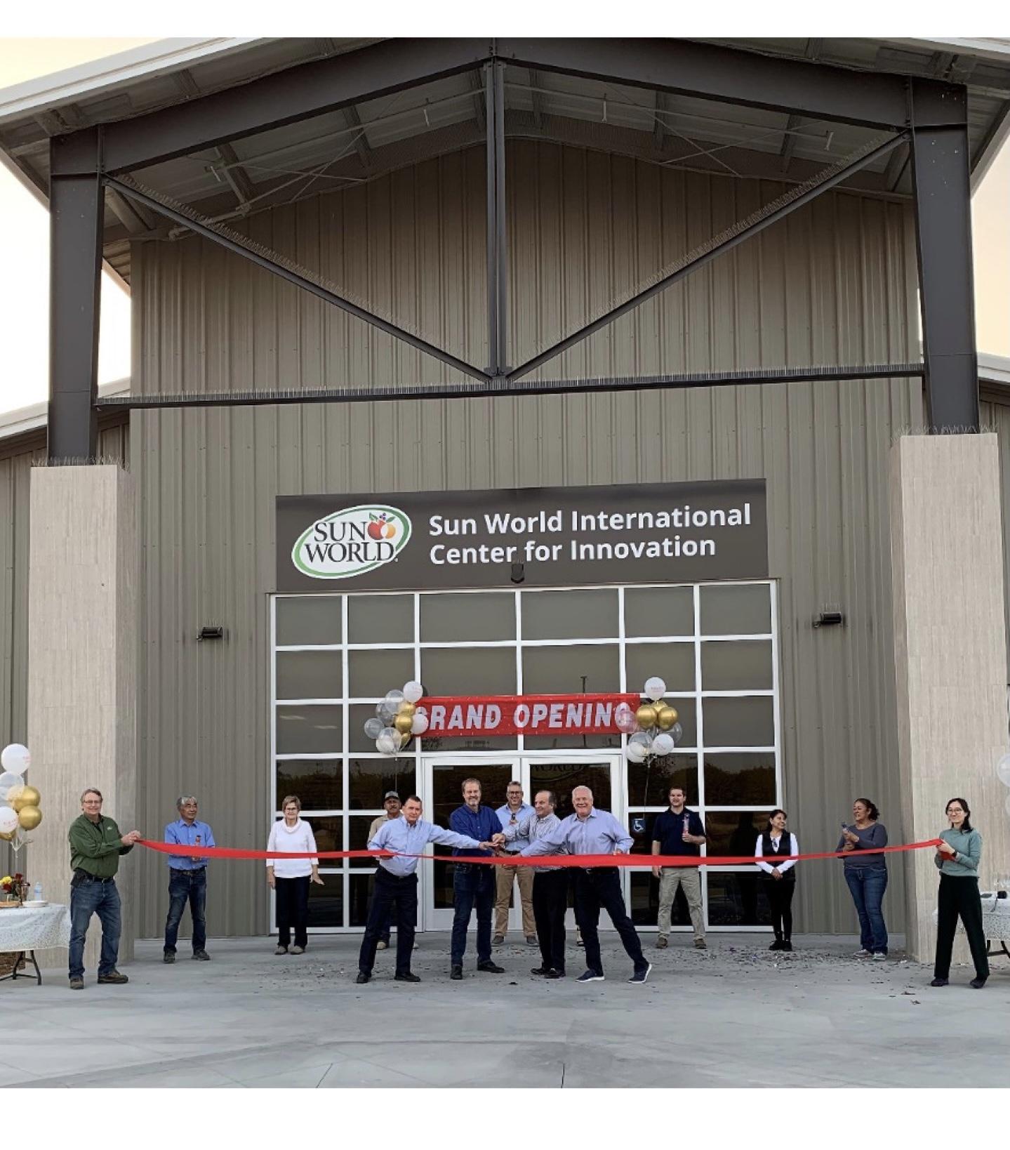 Sun World announces opening of new center for innovation