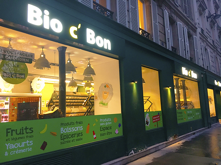 17% of France's specialist organic stores owned by major retailers © Claire Tillier