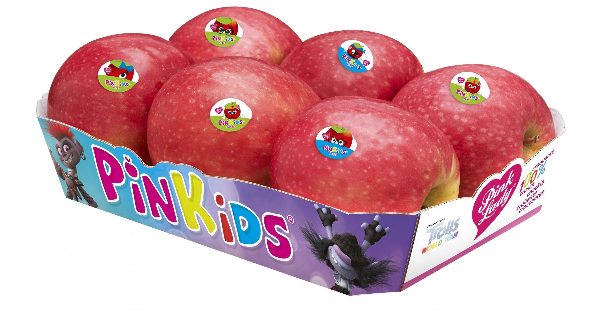 Pinkids® takes on the colours of the animated film Trolls World Tour