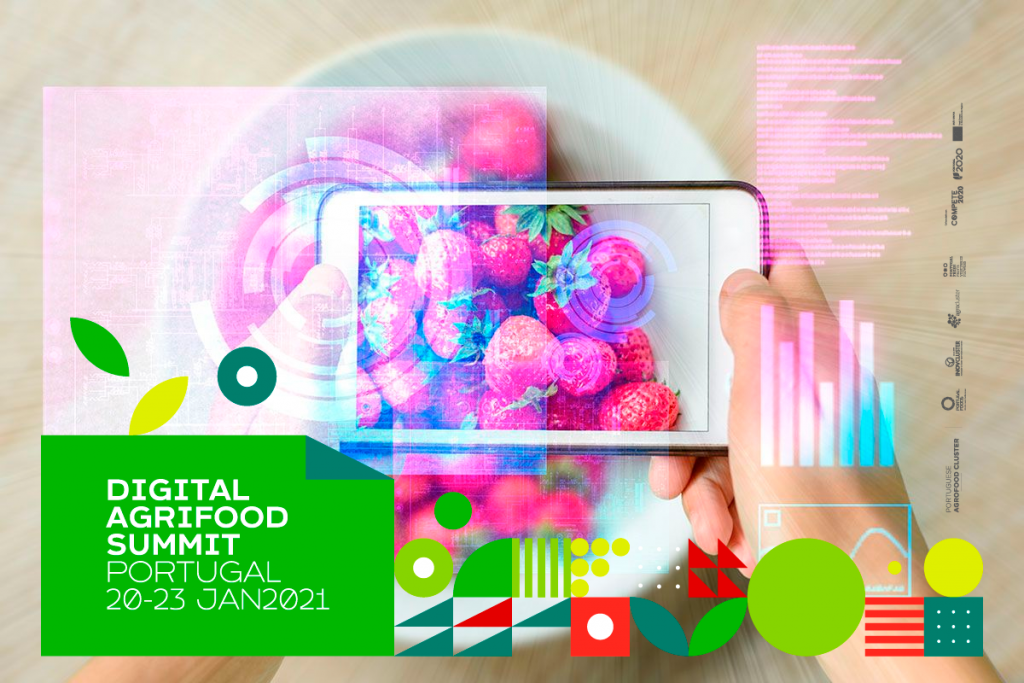 Portuguese innovations in food are put on show to the world at the Digital Agrifood Summit Portugal 2021