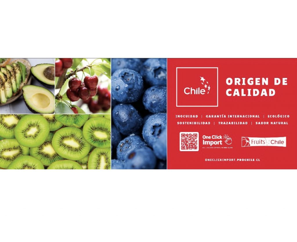 Chilean produce promoted in Mercamadrid and Mercabarna