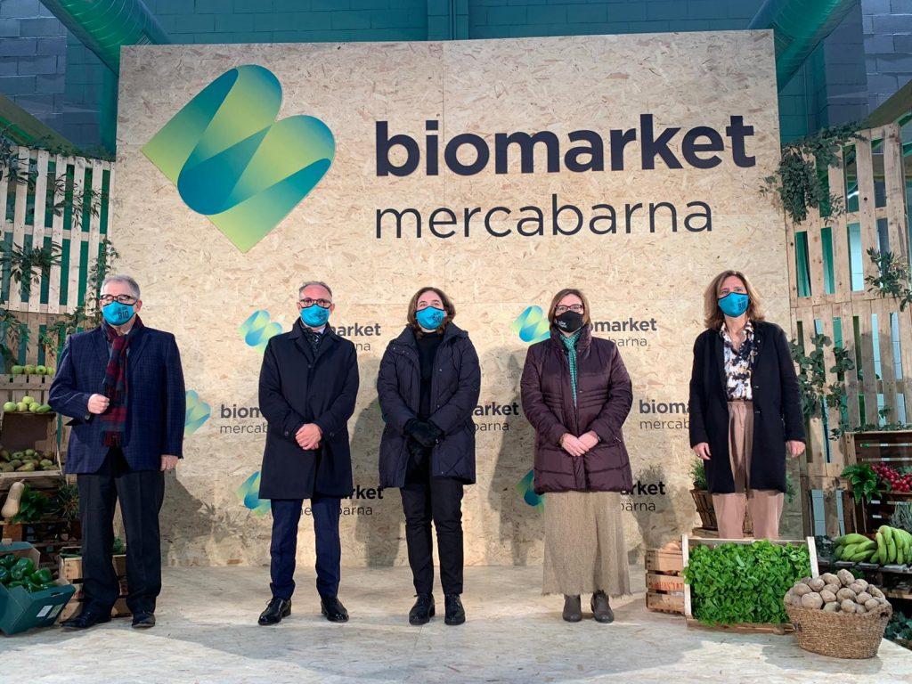 Sector hails opening of Biomarket © Mercabarna