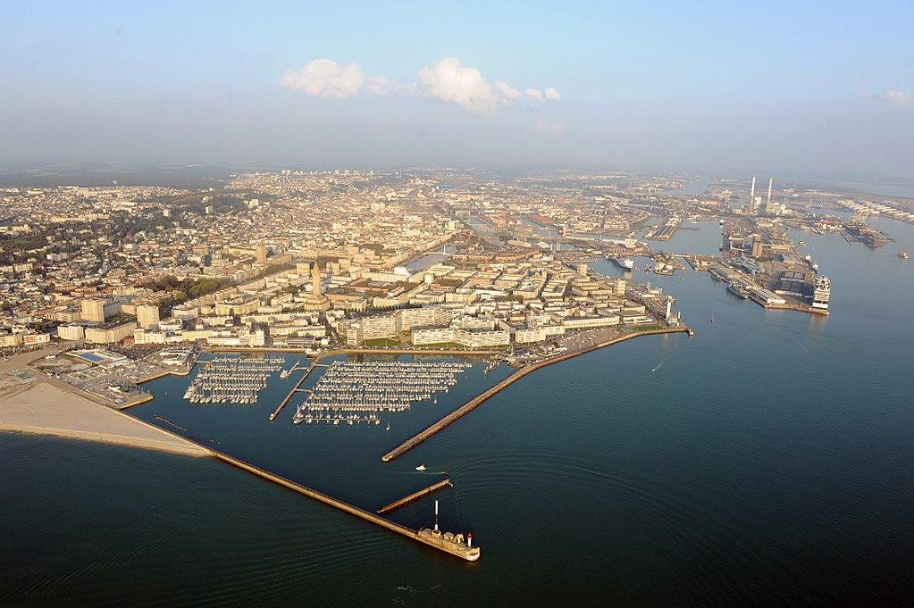 Sharp drop in cargo handled at European ports © La Ville du Havre