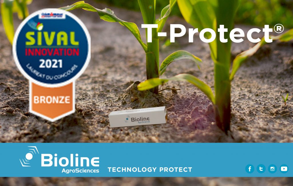 Bioline obtains bronze medal at SIVAL Innovation 2021 with T-PROTECT® © Bioline Agrosciences