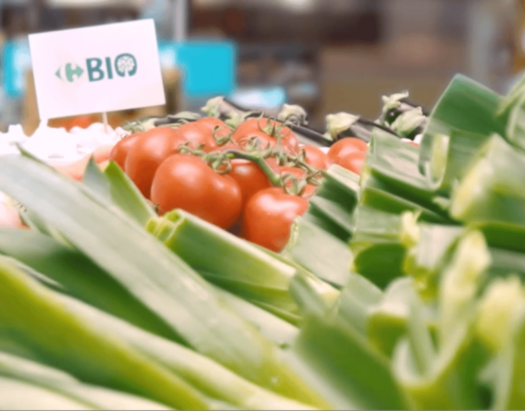 Carrefour launched 157 new organic products in 2020