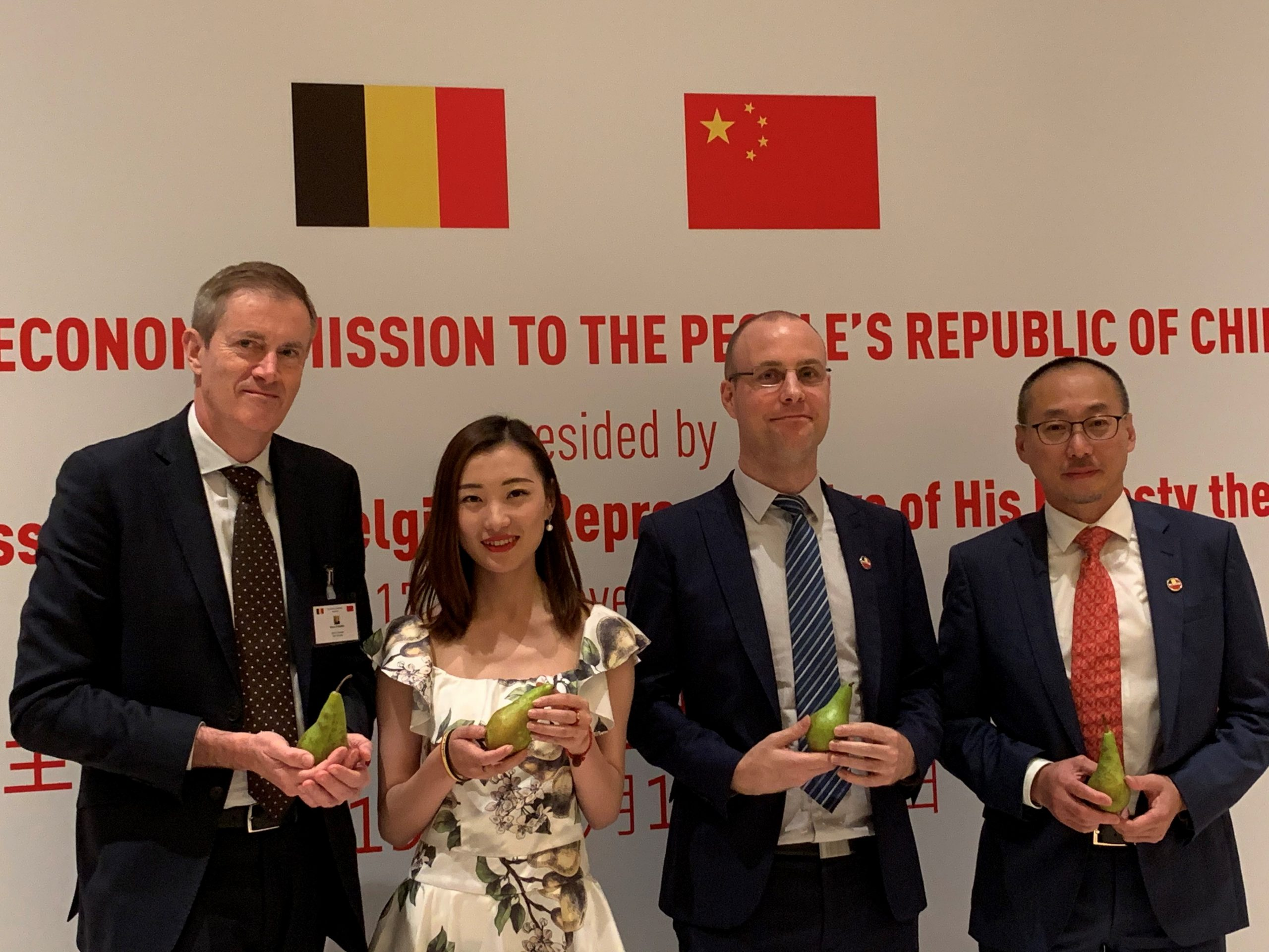 BFV – Dole China on the 10 year anniversary of Truval Conference Pears in China