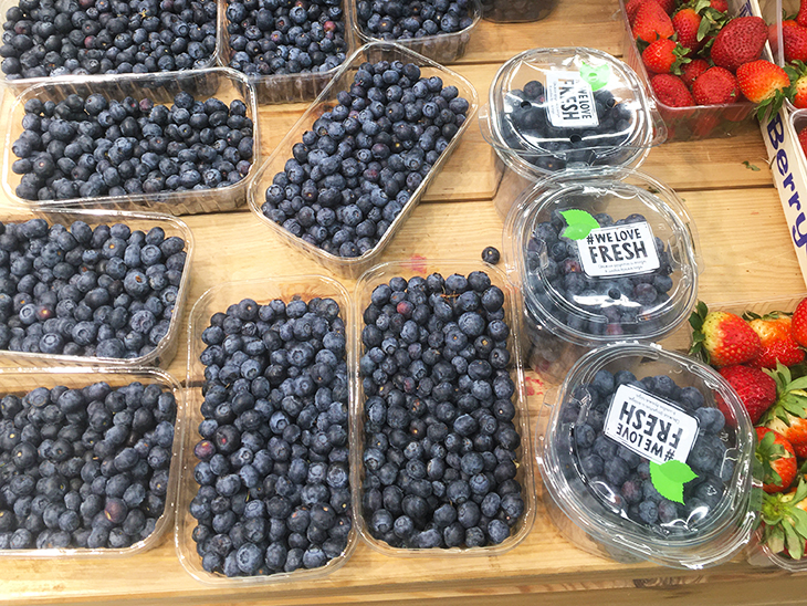 Positive trends of blueberry consumption in Russia © Eurofresh Distribution