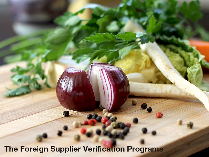 Foreign Supplier Verification Programmes by United Fresh © United Fresh