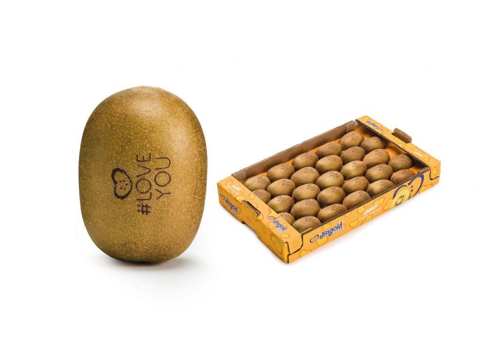 Jingold kiwifruit turns twenty and dedicate it to lovers