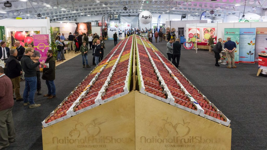 UK's National Fruit Show to celebrate heroic growers