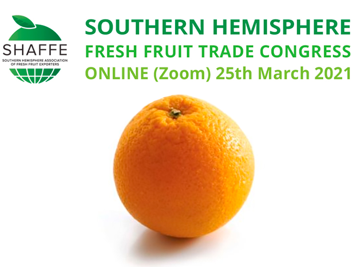 """""""Keeping the world supplied"""", thefirst virtual Annual Southern Hemisphere Fresh Fruit Trade congress"""
