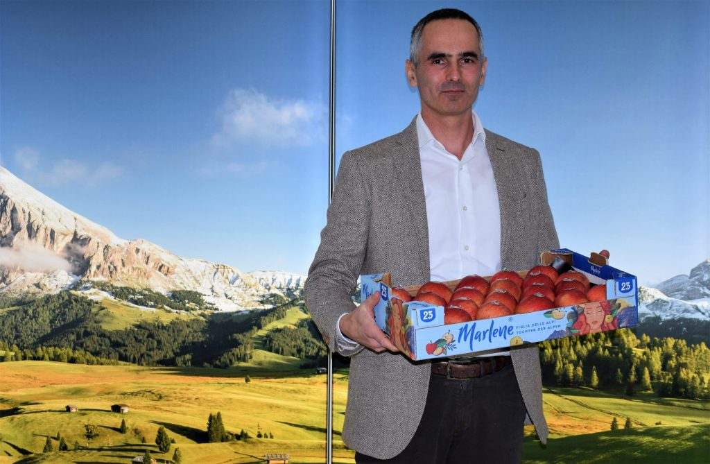 More than 100 millon Marlene® apples make their debut with the new image