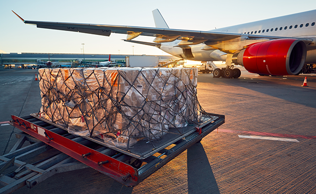 Air freight demand returns to pre-pandemic levels