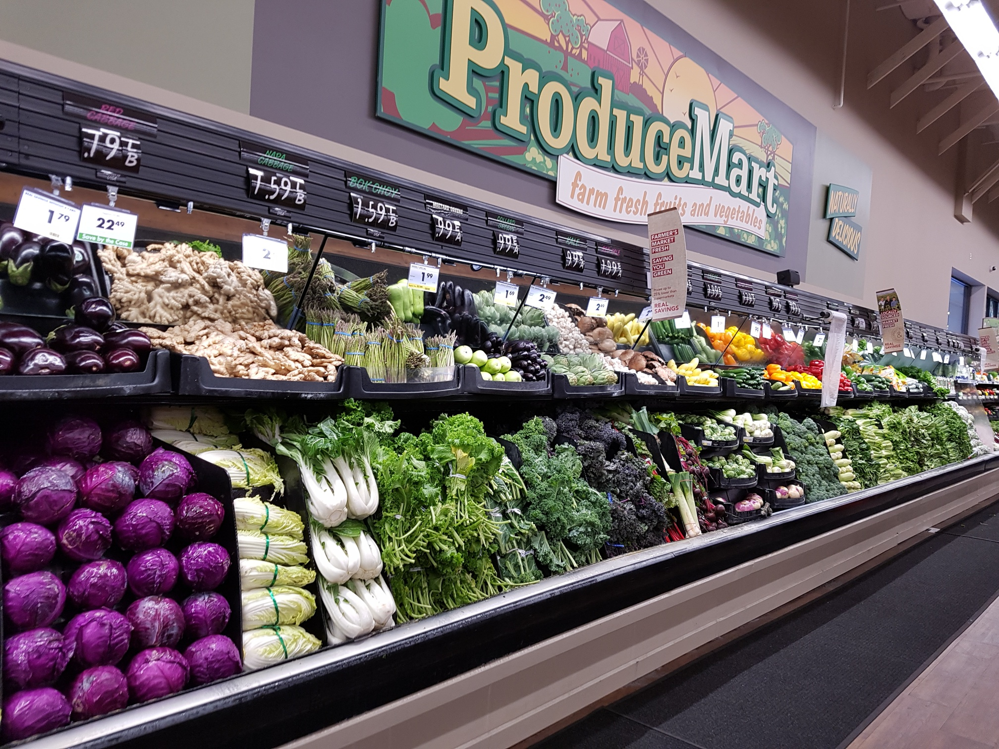 Strong US demand for fresh produce