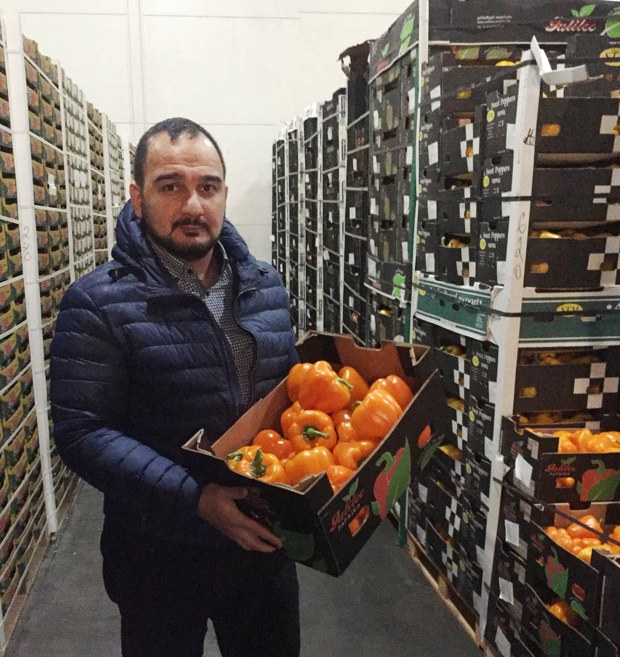 Iran has been gaining its position in Russia as an important exporter of sweet pepper