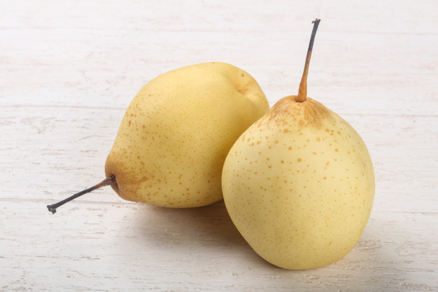 Slight upturn in Chinese pear exports