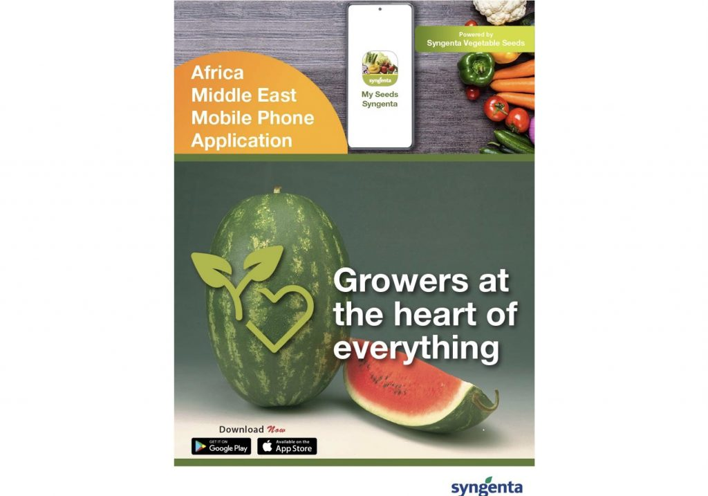 Syngenta Vegetables launches a new product mobile app in the Africa and Middle East territory
