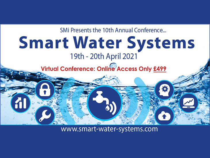 Smart Water Conference on 19-20 April