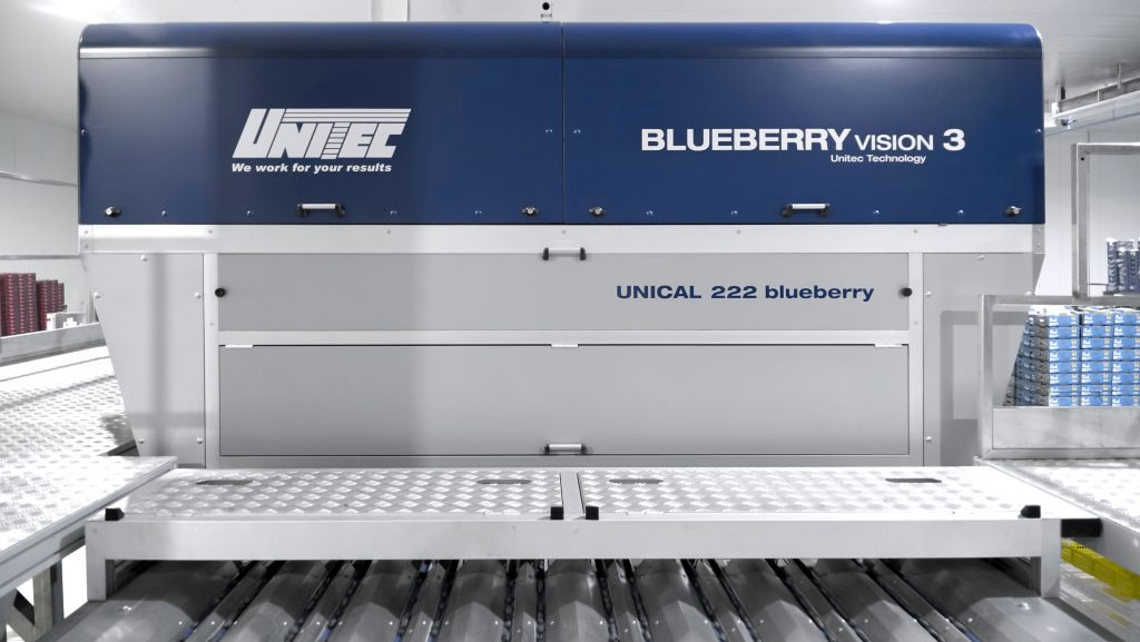 UNITEC blueberry vision 3: Competitive advantage for blueberry quality selection