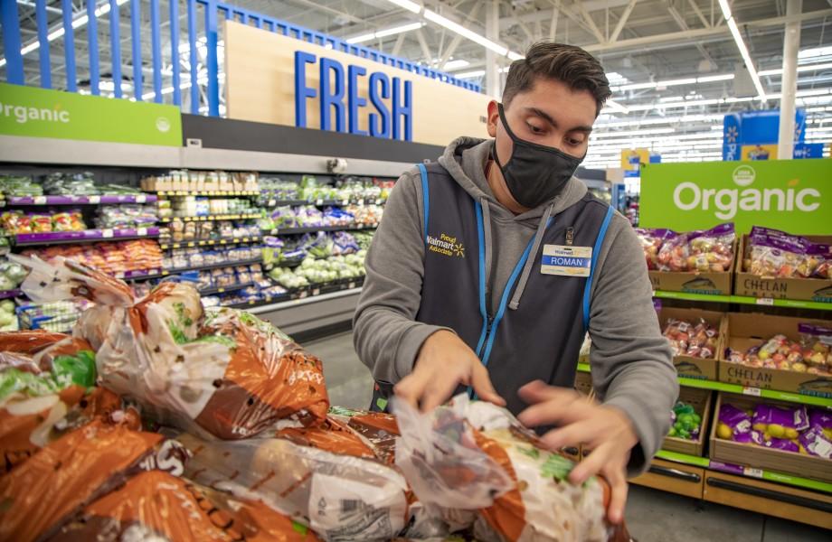 Fresh produce sales slip in US