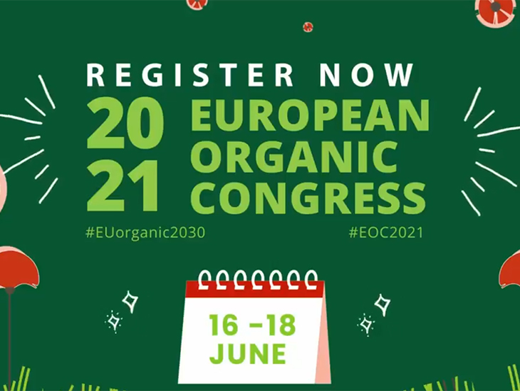 European Organic Congress 2021 to take place online from Lisbon on 16-18 June 2021