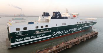 Grimaldi Lines launches first hybrid-powered ships