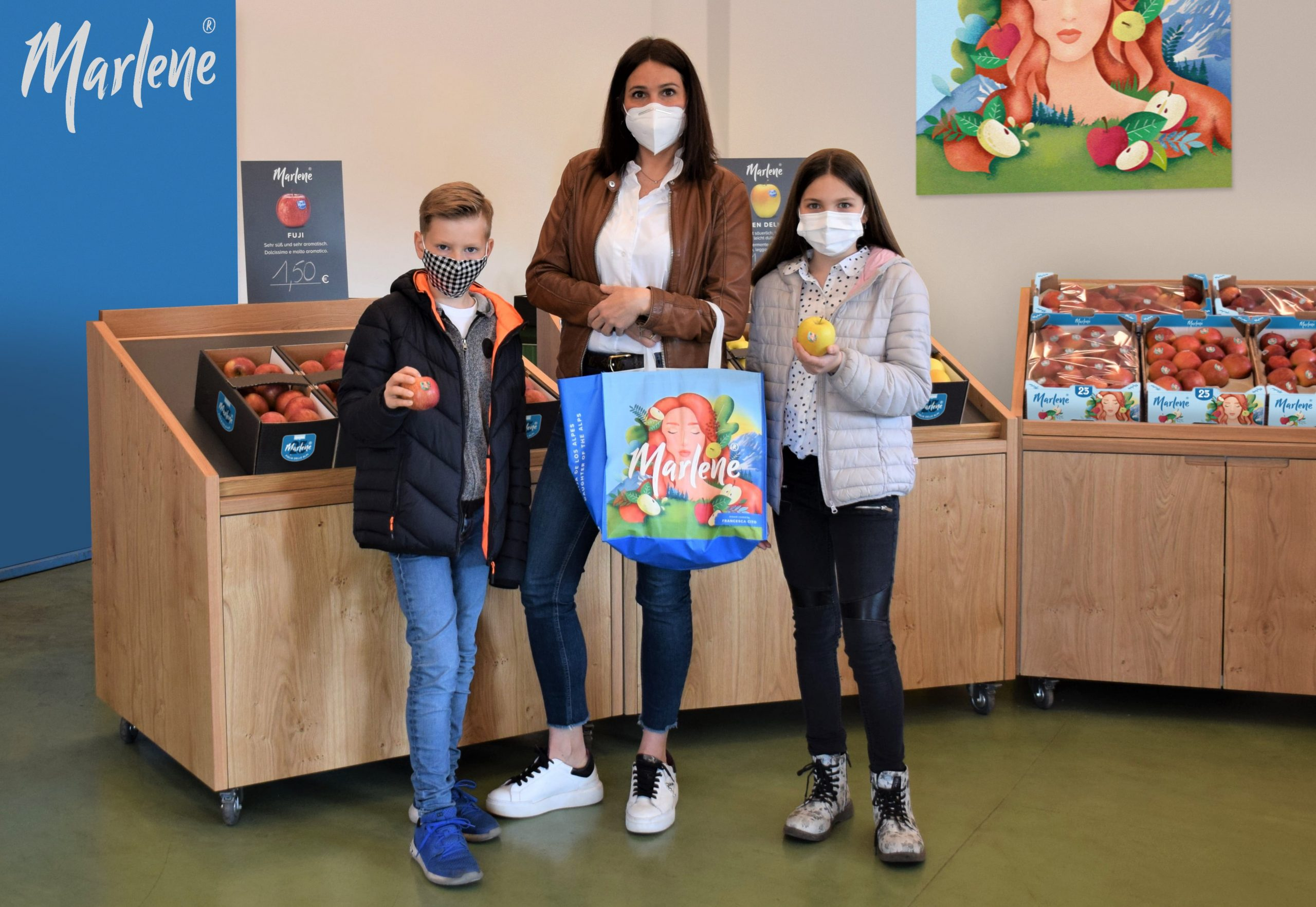 The Marlene® nymph decorates 150,000 bags across Europe