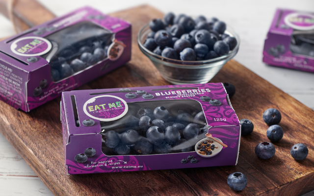 Berries Pride presents new sustainable blueberry packaging