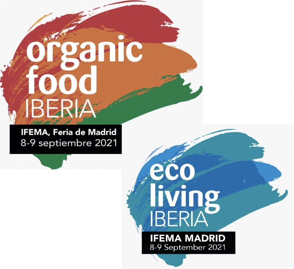 Organic Food Iberia and Eco Living Iberia logos