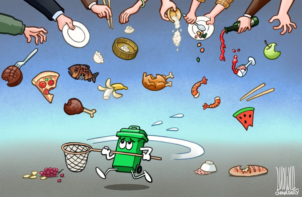 Chinese government tackles food waste and promotes sustainability