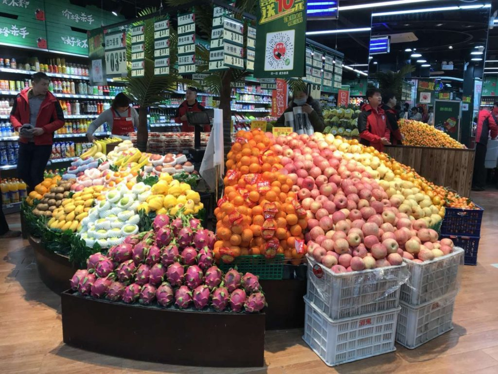 Chinese fruit imports increase tenfold in 5 years