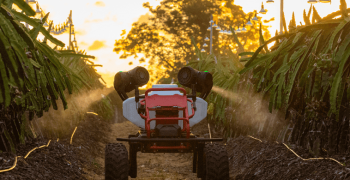 Ground robot to assist elderly Japanese farmers