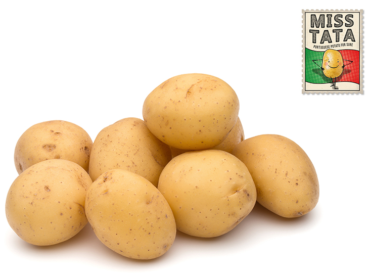 For the first time, Portuguese potatoes reach consumers with the Miss Tata brand