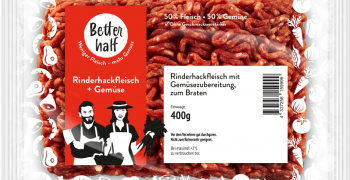 REWE launches meat items made of 50% vegetables