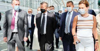 First mega greenhouse complex in Kurgan region of Russia