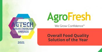 AgroFresh Awarded Overall Food Quality Solution of the Year at AgTech Breakthrough Awards