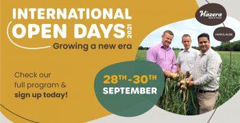 "Dynamic program during the Hazera Online International Open Days 2021: ""Growing a new Era"""