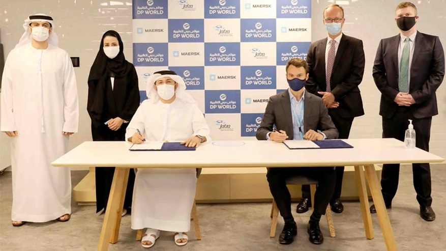 The agreement signed between Maersk and DP World