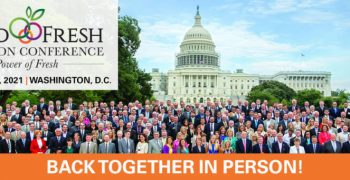 United Fresh to advocate for labour, nutrition policy, food safety & infrastructure on Capitol Hill