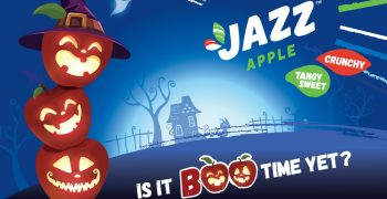 JAZZ™apple offers a healthier twist for Halloween