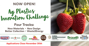 Driscoll's launches Agricultural Plastics Innovation Challenge